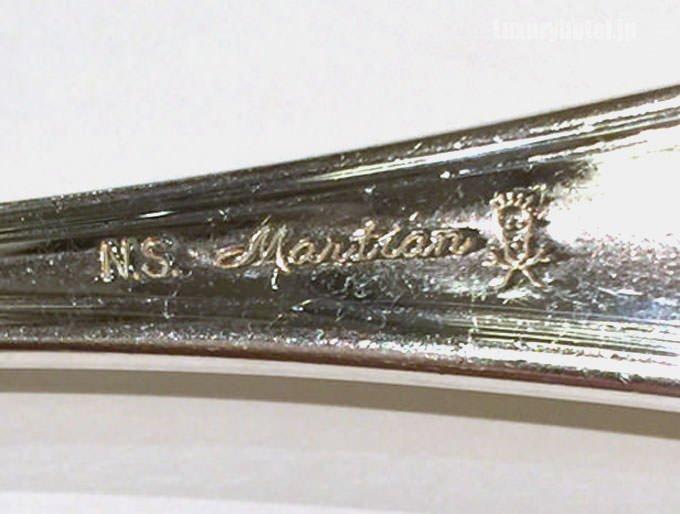 スプーンのメーカーはマーシャン社
