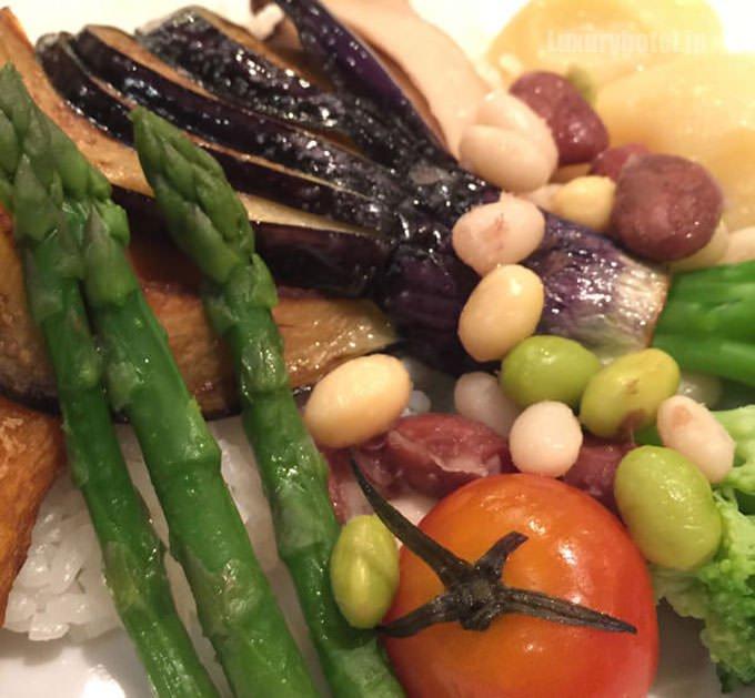 野菜の拡大画像