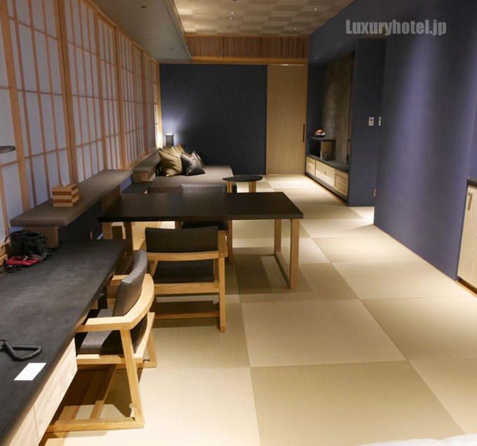 和洋室「菊」リビングルーム部分