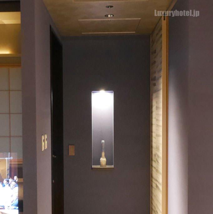 部屋の入り口部分