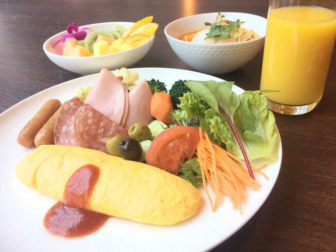 トリプルワン 朝食メニュー