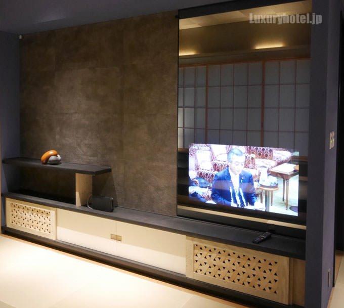 鏡の中にはテレビが仕組まれている
