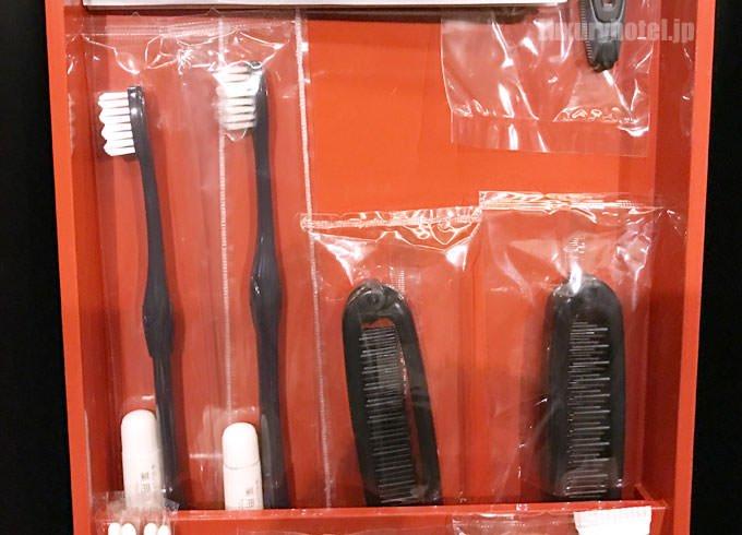 歯ブラシやヘアブラシ