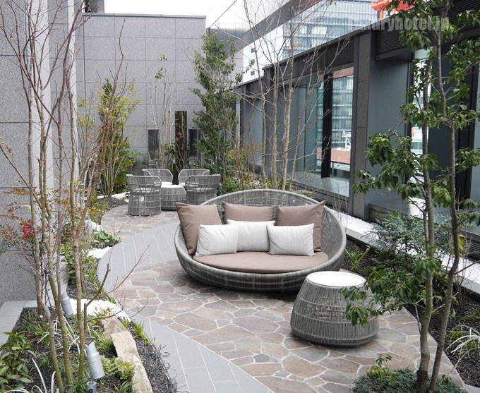 アスコット丸の内東京 ロビーフロアのテラス