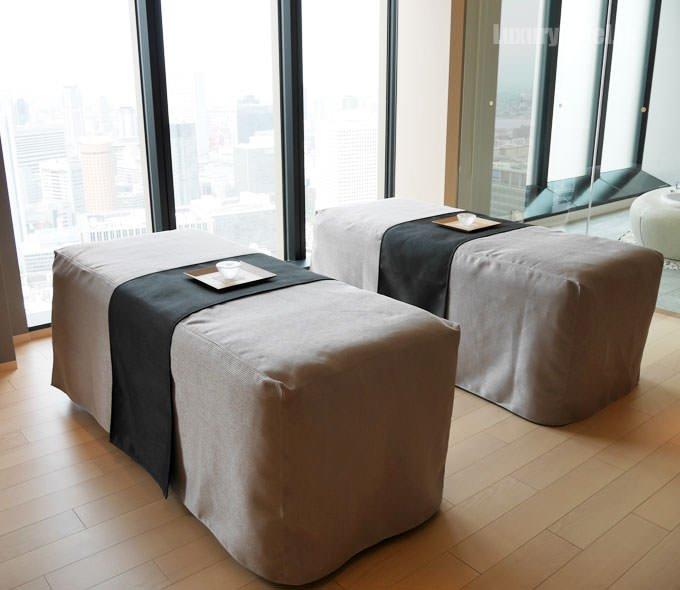 コンラッド大阪のコンラッド・スパ カップルスイートルーム