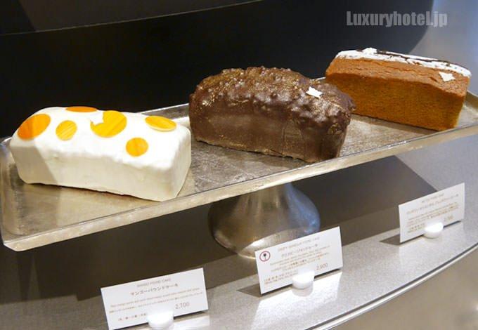 パウンドケーキ3種