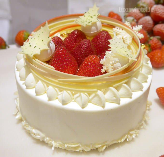 マンダリン オリエンタルのクリスマスショートケーキ