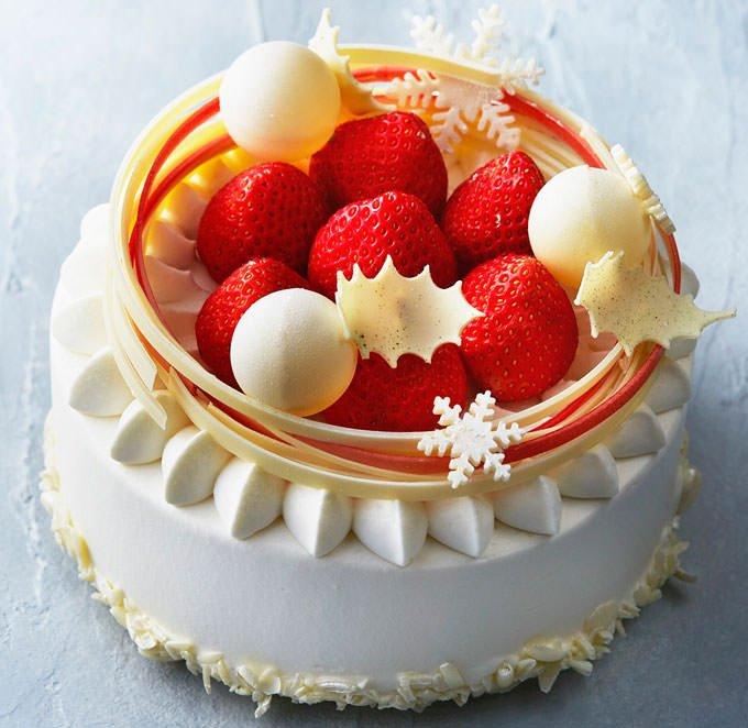 マンダリン オリエンタルのクリスマスショートケーキ 公式画像