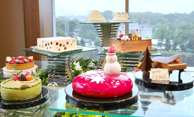 パレスホテル東京 2017 クリスマスケーキ