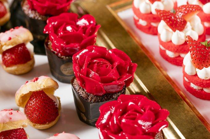 わたくしのバラのカップケーキ