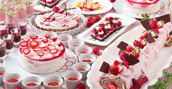 グランドプリンスホテル京都「Red Hot Strawberryフェア」
