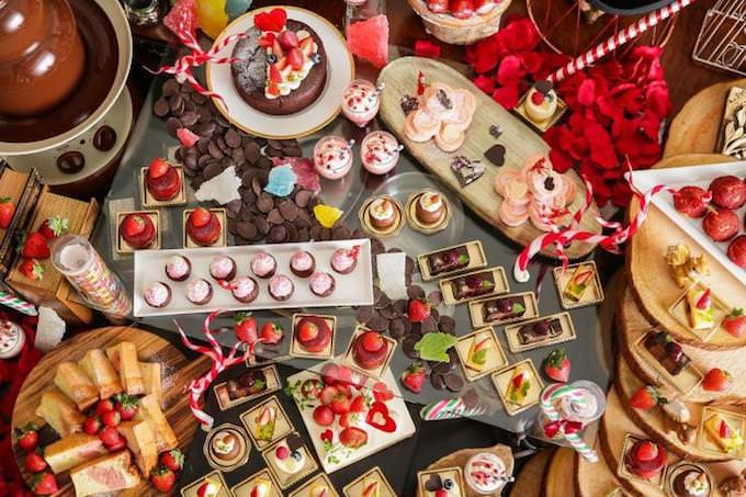 八事サーウィンストンホテル「恋する苺&チョコレートブッフェ」