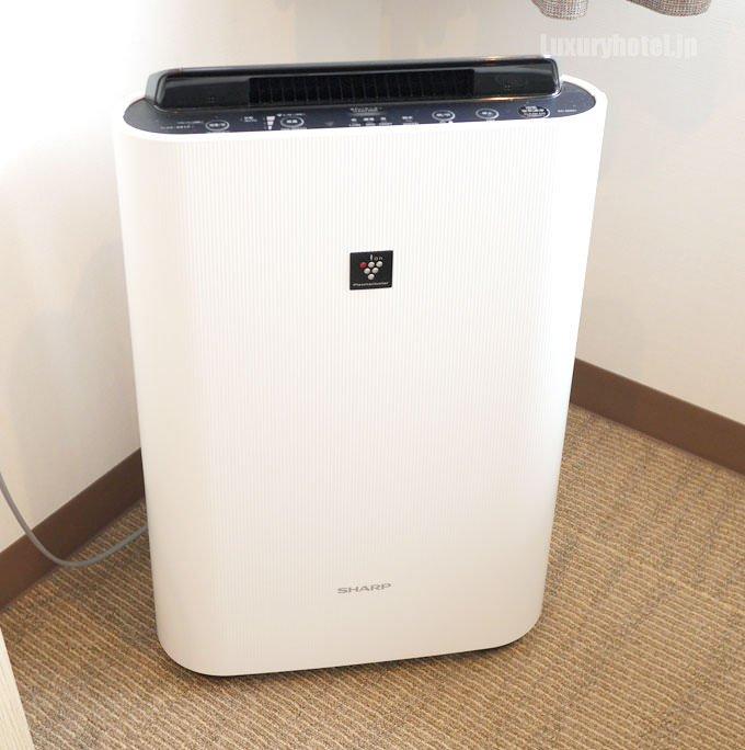 空気清浄機も全室完備