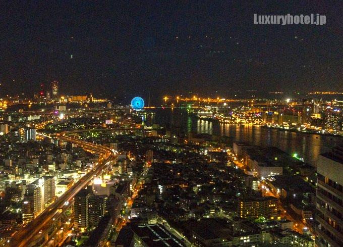 アートホテル大阪ベイタワー 海側の夜景