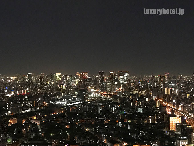 梅田方面の夜景