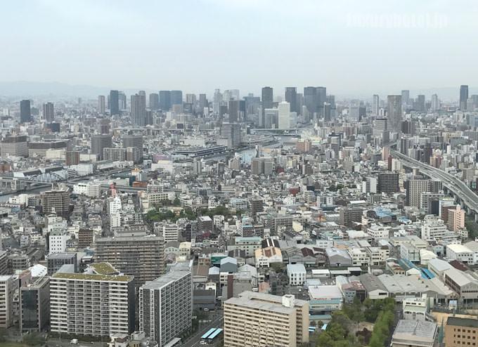 梅田方面 昼の景色