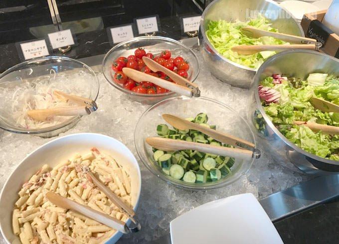 朝食の野菜・サラダ類