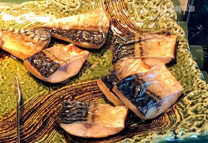 焼き魚は鯖