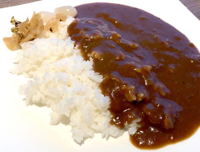 ホテル特製 神戸牛すじ入りビーフカレー