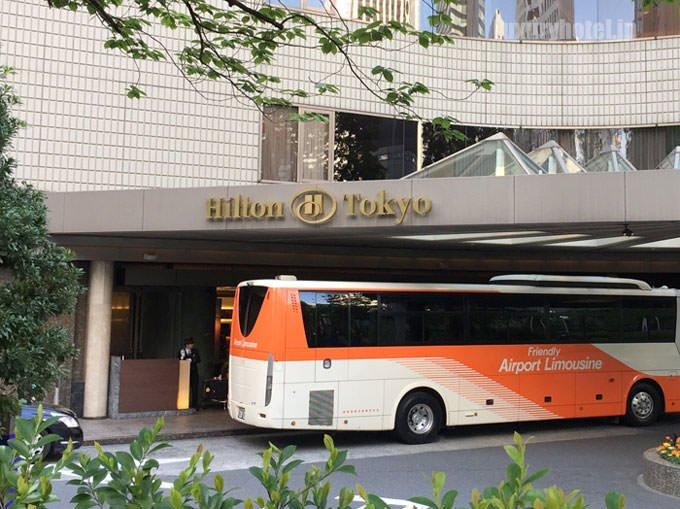 ヒルトン東京 入り口画像