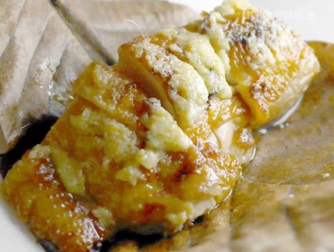鶏の柚子胡椒 朴葉焼き 鶏肉の画像