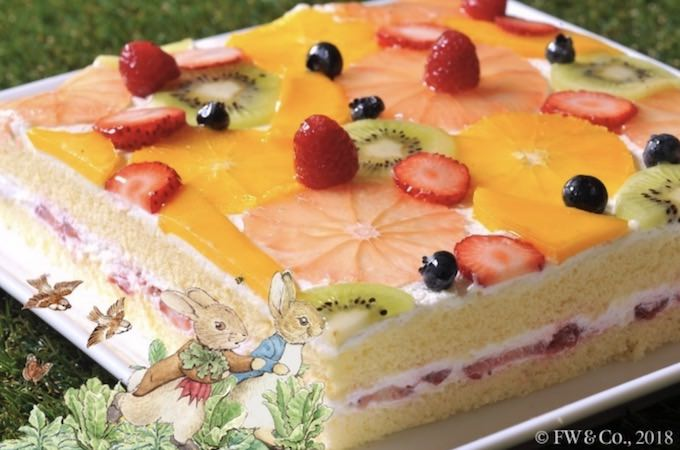 ショートケーキのフルーツ畑