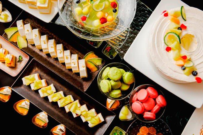 品川プリンスホテル スイーツブッフェ「Sweets Buffet THE RAINBOW」