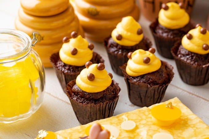ハチの巣カップケーキ