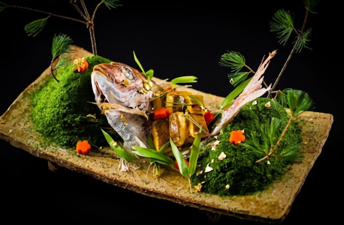 川梅(かわうめ)祝い鯛