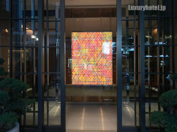ハイアット セントリック 銀座 東京 入り口のドア