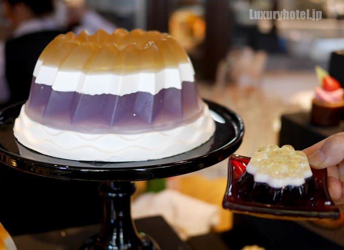 ホールケーキ型の石けんとゼリー