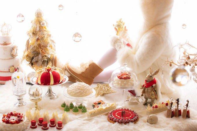 アリスinクリスマス・マジック」 デザートビュッフェ イメージ画像