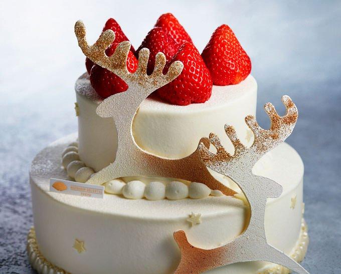 千疋屋クイーンストロベリー プレミアムショートケーキ 公式画像