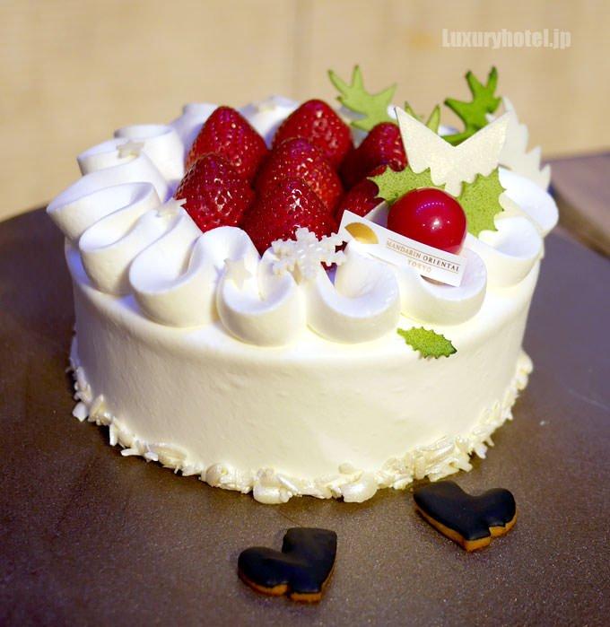 苺のショートケーキ 全体像