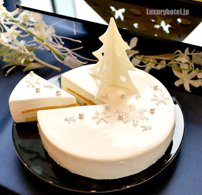 「アルブル ド ノエル」の中に入っているケーキ