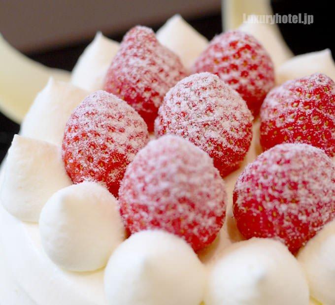 ストロベリーショートケーキ 苺の拡大画像