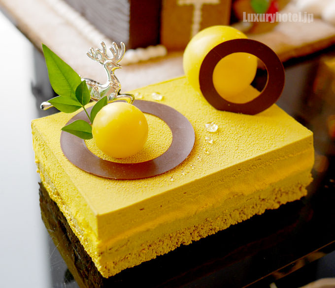 ヘクセンハウス お菓子の家に入ってるパッションフルーツのケーキ