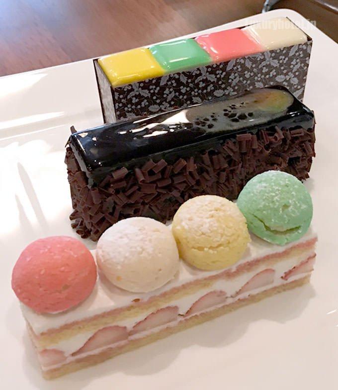 アソートケーキ 別角度からの全体画像