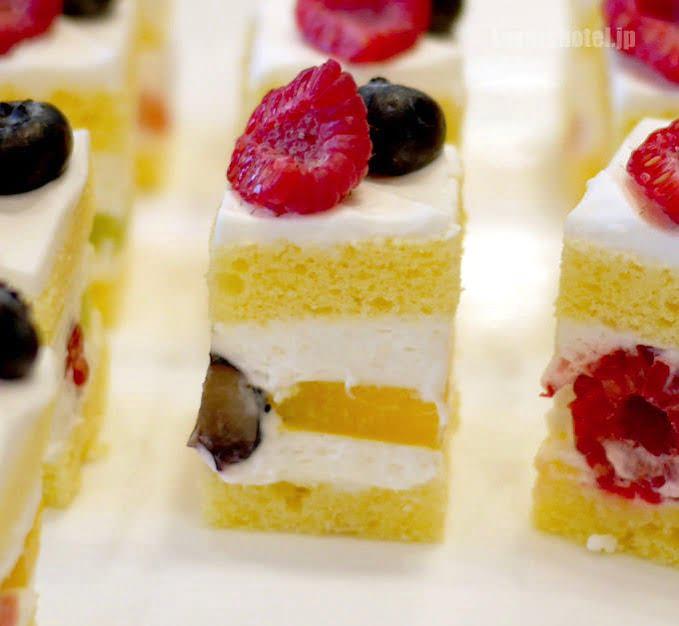 クリスタル フルーツショートケーキ 試食バージョン