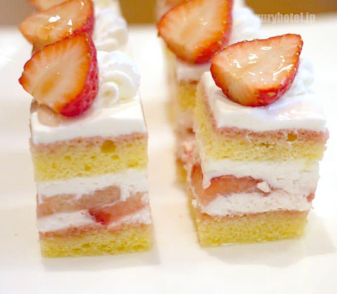 ストロベリーショートケーキ 試食バージョン