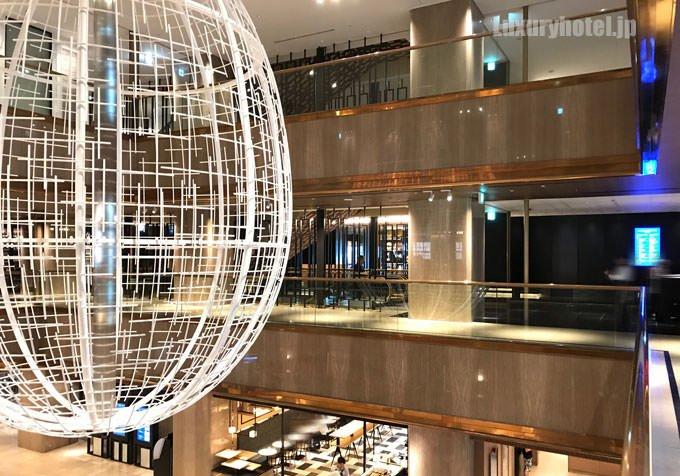 ヒルトン大阪 2階のレストランフロア