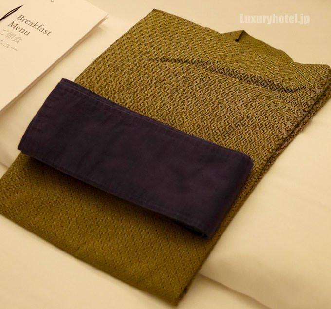 セント レジス ホテル 大阪の浴衣