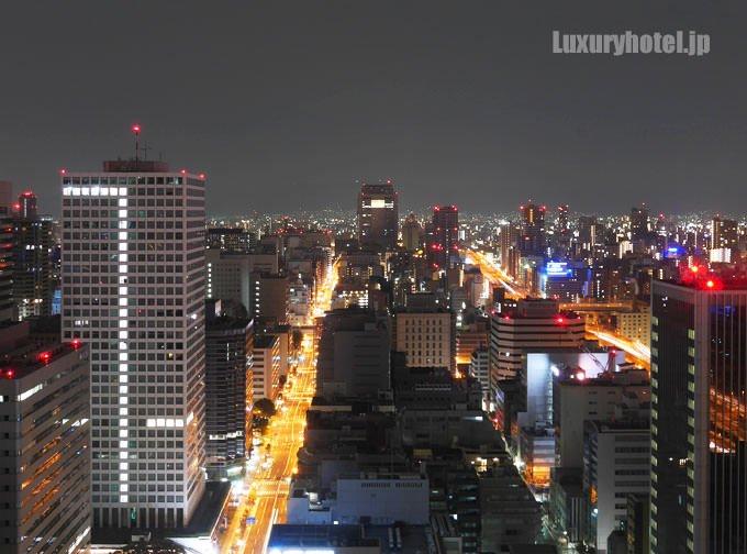 セント レジス ホテル 大阪から見える夜景