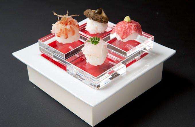 西麻布「ラ・ボンバンス」日本料理例