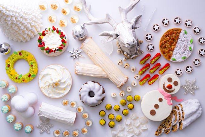 コンラッド大阪 クリスマススイーツブッフェ「スノー&ホワイト」