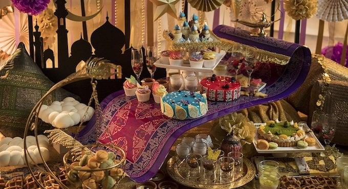 ヒルトン大阪 クリスマス「デザートビュッフェ ~魔法の絨毯にのって~」の料金や時間など詳細