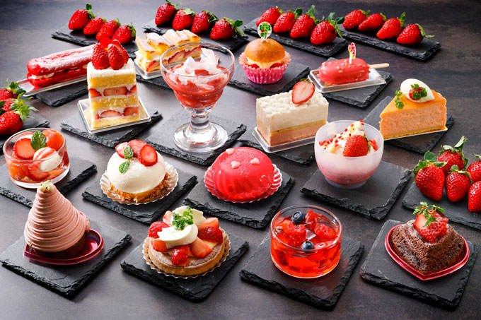 ホテル日航大阪 苺ブッフェ「苺たっぷりスイーツオーダーブッフェ」イメージ画像