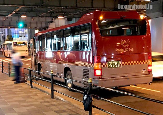 帝国ホテル大阪 シャトルバス