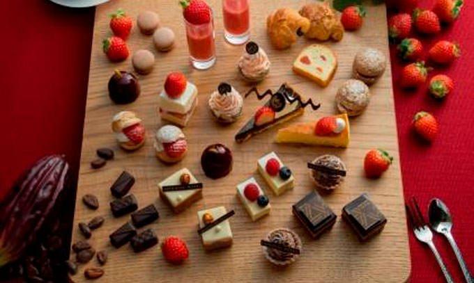 「苺スイーツブフェ ~ショコラとの饗宴~」イメージ画像