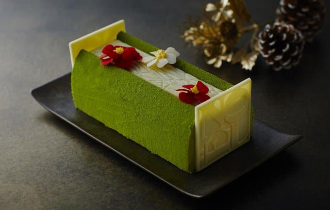 クリスマスケーキ「ブッシュ・ド・ノエル・ジャポネ」公式画像
